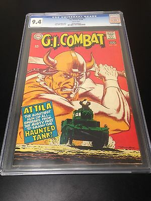 G.I. Combat DC Comic #130 CGC 9.4 White Pages