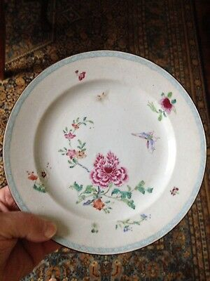 Chinese Hand painted Porcelain Plate Qianlong