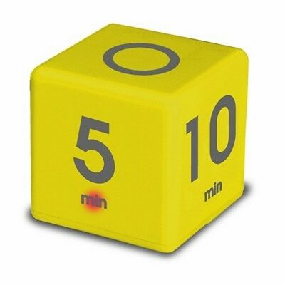 NEW Teledex Time Cube 5-10-20-45 Minute Yellow Te-df-36