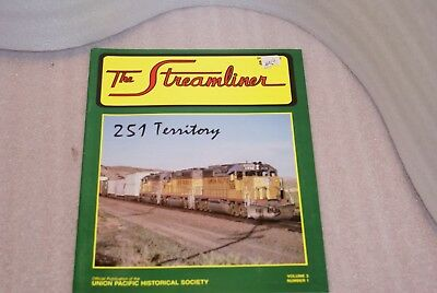 The Streamliner Union Pacific Railroad Magazine Vol 3 Number 1