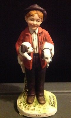 Norman Rockwell Figurines Limited Edition Pals CG-3