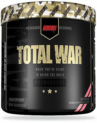 Redcon1 Total War Pre-Workout 30 Servings Variety Flavors