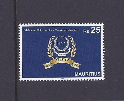 Mauritius 2017 250th Anniversary of Mauritius Police Force 1V MNH