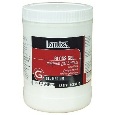 Liquitex Professional Gloss Gel Medium, 946 ml