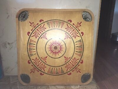 Antique Carrom Game Table