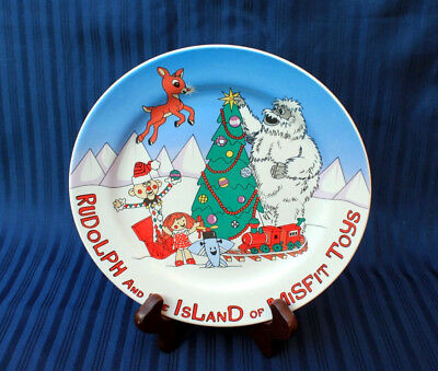 Rudolph and the Island of Misfit Toys Plate