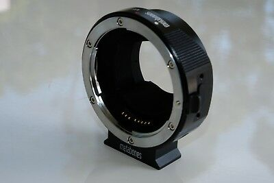 Metabones T Smart Adapter Mark IV - Sony E Mount to Canon EF
