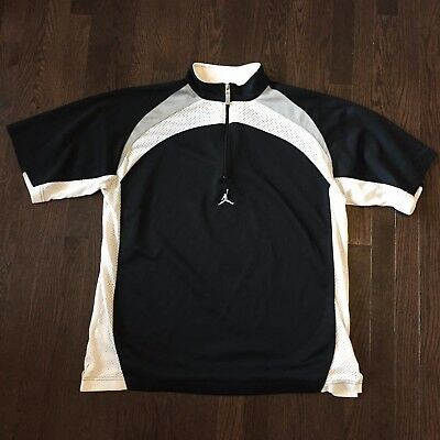 Air Jordan Nike Basketball Warmup Shirt Mens Size L