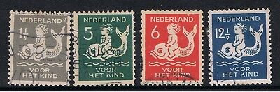 Netherlands 1929 Child On A Dolphin