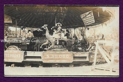Rppc Des Plaines In Merry Go Round Coca Cola Bottling Rooster Carousel Ride