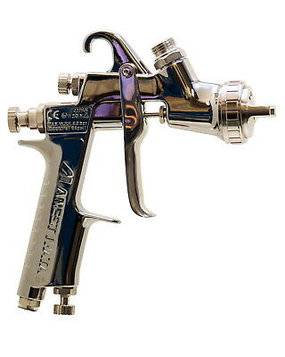 ANEST IWATA W-400-142G 1.4mm Gravity Spray Gun no Cup Center Cup Guns  W400
