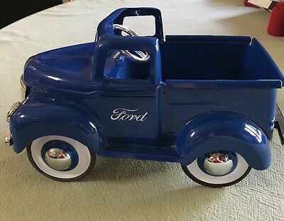 Vintage Ford Planter Box Pickup Truck
