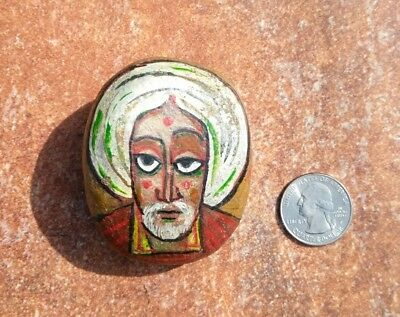 hand-painted Stone