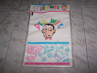 RARE, HARD TO FIND 1987 PEE WEE 8 Party Bags (NEW)