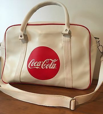 Retro Coca-Cola Super Cup Large Tote Travel Bag with Shoulder Straps