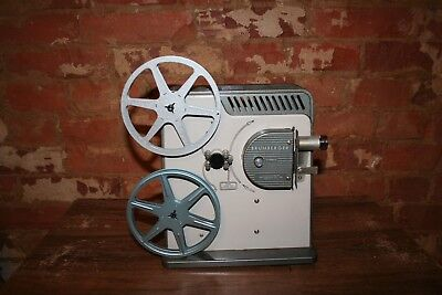 Vintage Brumberger Model 153 Reel to Reel Kids Movie Projector