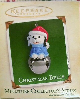 Hallmark 2005 - Miniature - Christmas Bells - # 11 - Puppy