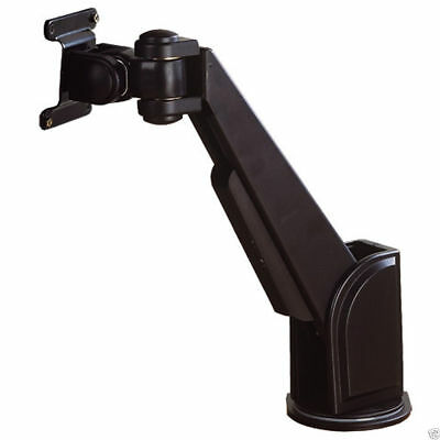 Desktop TFT LCD Monitor Swivel Arm for Office Desk BLACK