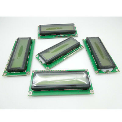 1602 Character 16x2 LCD Display Module Green- 5V White Character/ Backlight