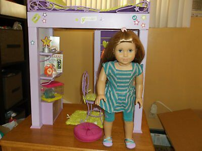 American Girl Doll McKenna With Loft Bed & Accessories