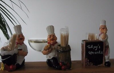 Chef Themed Toothpick Holders 3 Designs to Choose From Think Cristmas Stocking