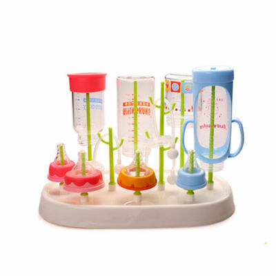 Baby Infant Bottle Dryer Rack Kitchen Clean Drying Shelf Feeder Holder
