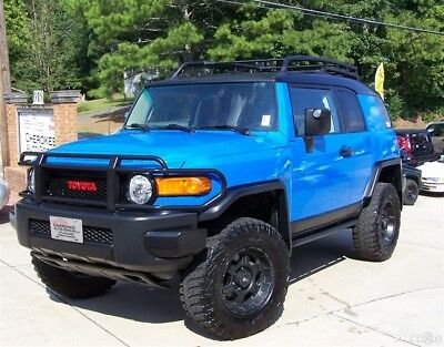 2007 Toyota FJ Cruiser 1-OWNER TRD 4X4 4.0L V6 LIFT RACK WAGON HARP VOODOO BLUE 4WD COLD AC CRUISE COMPARE 2 LAND F J 40 60 62 4RUNNER HI LUX