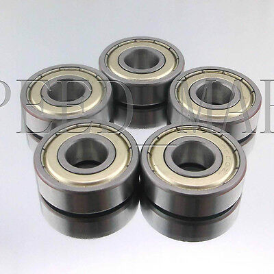 5PCS 6005ZZ Deep Groove Metal Double Shielded Ball Bearing (25mm*47mm*12mm)