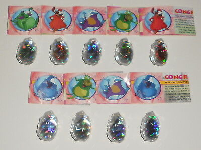 Mixed lot of Yowies Rare Limited Edition Crystals