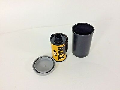 Kodak MAX 400 ISO 35 mm Color Film 24 exposures in Canister No Box Expired