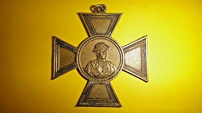 rare antique WWI german prussian ? cross medal pendant