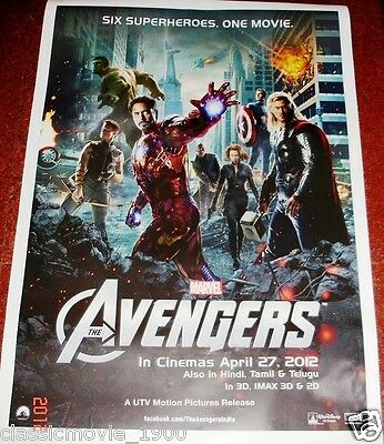 The Avengers Original Movie Poster 27X39 Ds Poster
