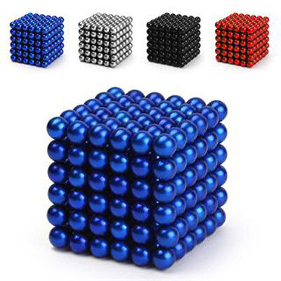 216pcs Magnet Balls Magic Beads 3D Puzzle Ball Sphere Magnetic Kids Best Toy YX