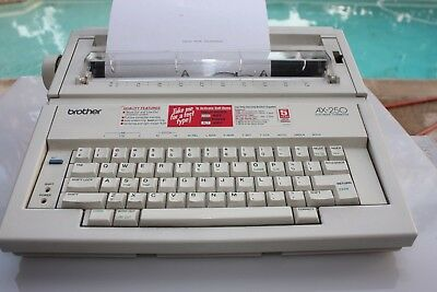 Brother-AX250-Electric-Typewriter-USED-Works-great