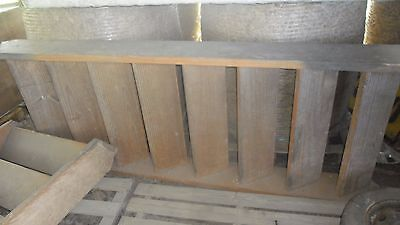 Solid Timber Stairs 8 Tread - 940 mm width - RRP $1,000's!