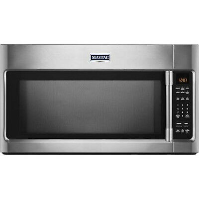 Maytag MMV 4205FZ 2.0 cu. ft. Stainless Steel Over the Range Microwave New