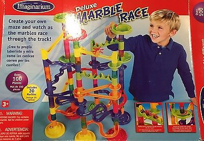 Imaginarium Deluxe Marble Race With Instructions