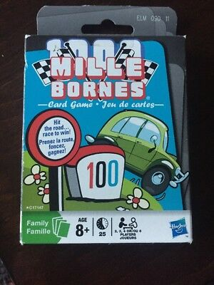 1000 Mille Bornes Card Game Parker Brothers NEW