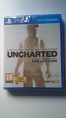 Uncharted 1-2-3   Juego Ps 4