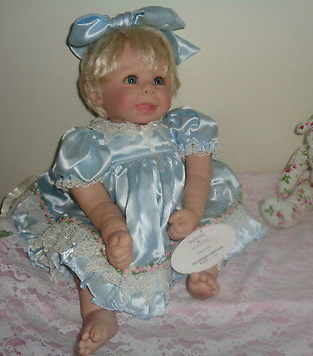 """Bonnie Chyle And Linda Rick Dollmaker And Friends """"beautiful One"""" Special Doll"""