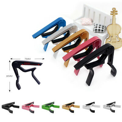 Acoustic Guitar Capo Tune Trigger Key Change For Quick Electric Clamp