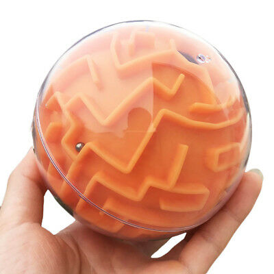 3D Labyrinth Magic RollingBall Puzzle Brain Teaser Game Sphere Maze Kid Toy Gift