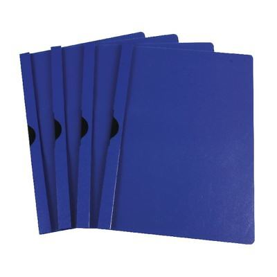 Q-Connect Dark Blue A4 Quickclip 3mm File (Pack of 25) KF00462 [KF00462]