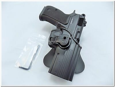 Strike Systems® CZ P-09 P-07 CZ 75 SP-01 Shadow Polymer Roto Paddle Holster New