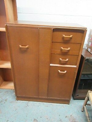 G plan gentlemans wardrobe /cupboard E.GOMME in need of some TLC