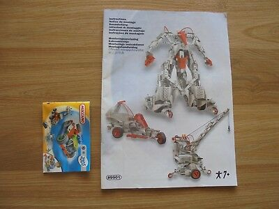 MECCANO manual #9901_manual only _used_xx79_Y3a74