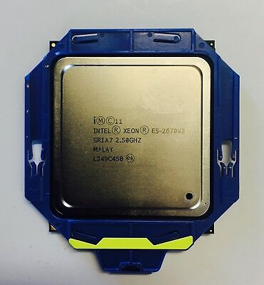Intel Xeon E5-2670 V2 SR1A7 2.5GHz 10 Core 25MB Processor