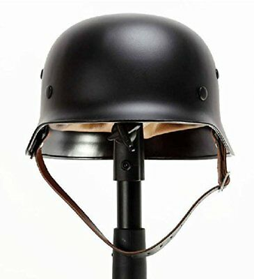 BLACK WW2 German Elite Wh Army M35 M1935 Steel Helmet Stahlhelm
