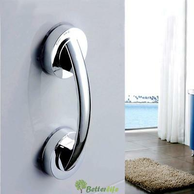 Free Installation Suction Cup Handle Handrail for Glass Door Bathroom Office