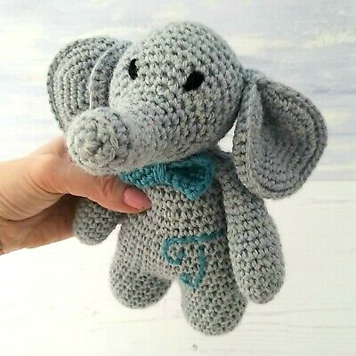 Crochet Kit - Twin Eli & Ella Elephants Luxury 100% Wool & Alpaca Mum Craft Gift